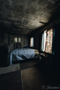 Abandoned Dutchess County House Bedroom