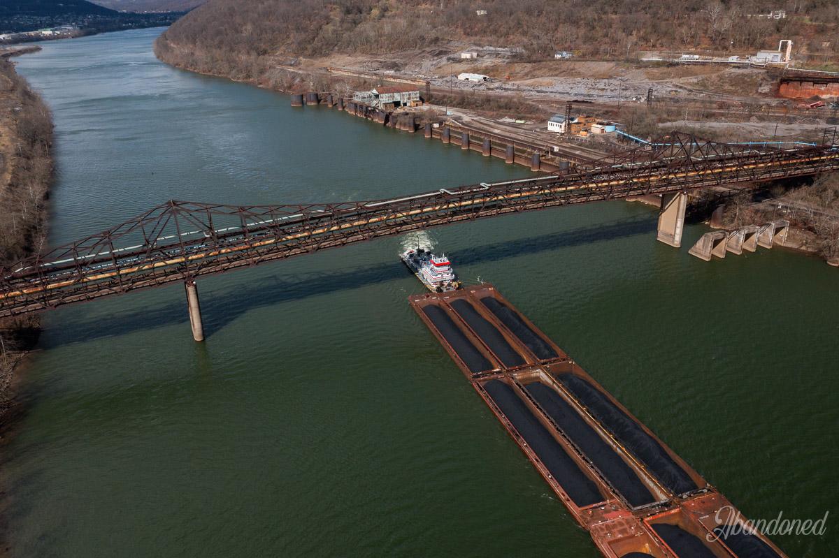 Browns Island Main Channel Bridge