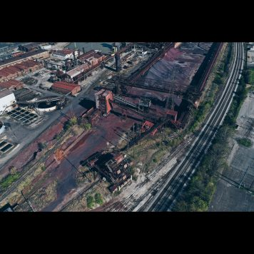 Ore Yard and Trestles