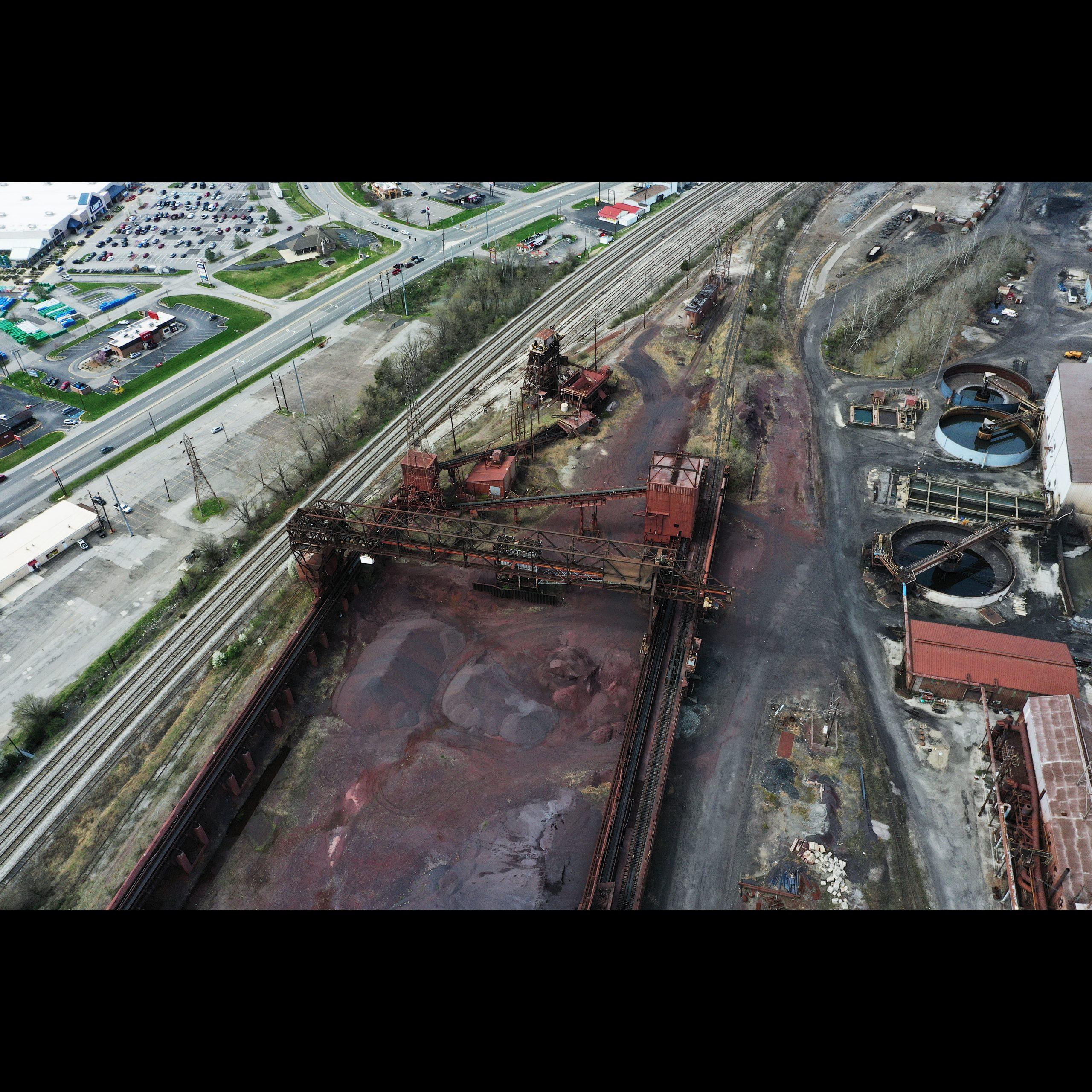 AK Steel Ashland Works - Ore Field and Trestle