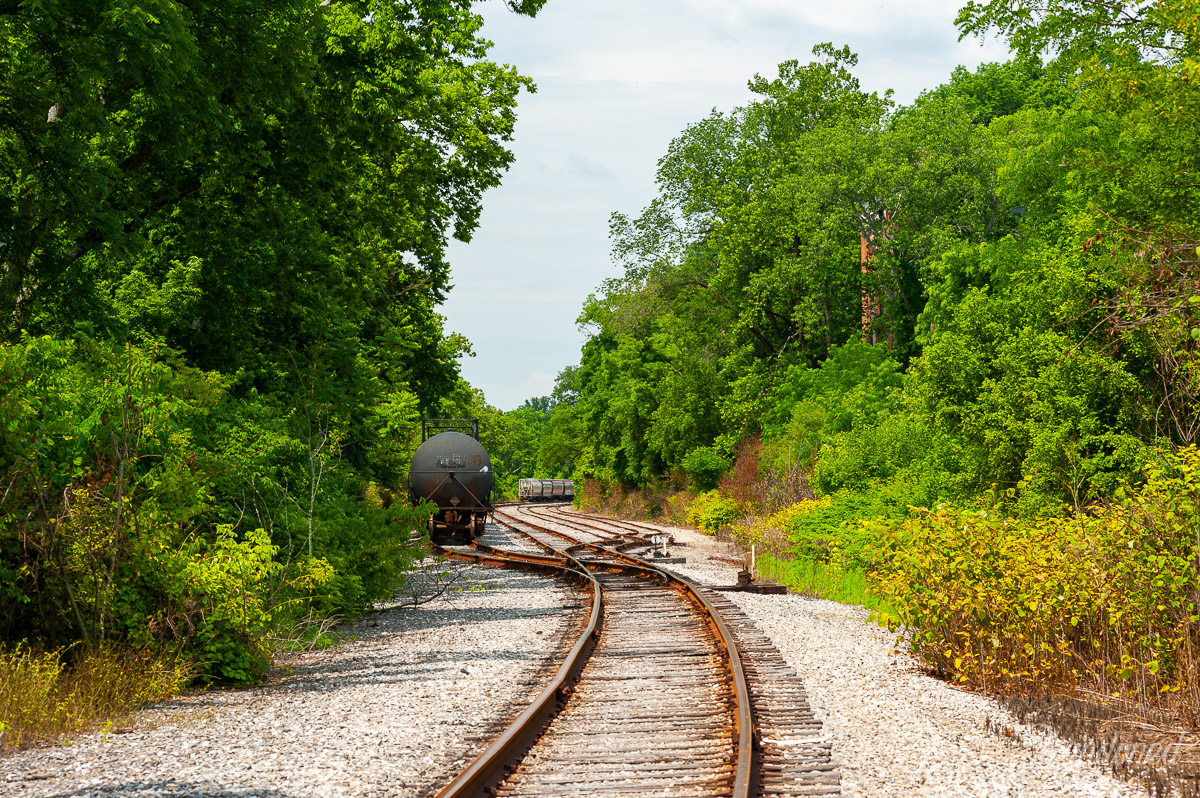 Little Miami Railroad - End of the Line - Wooster Pike, Mariemont