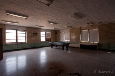 Mayview State Hospital Recreation Room