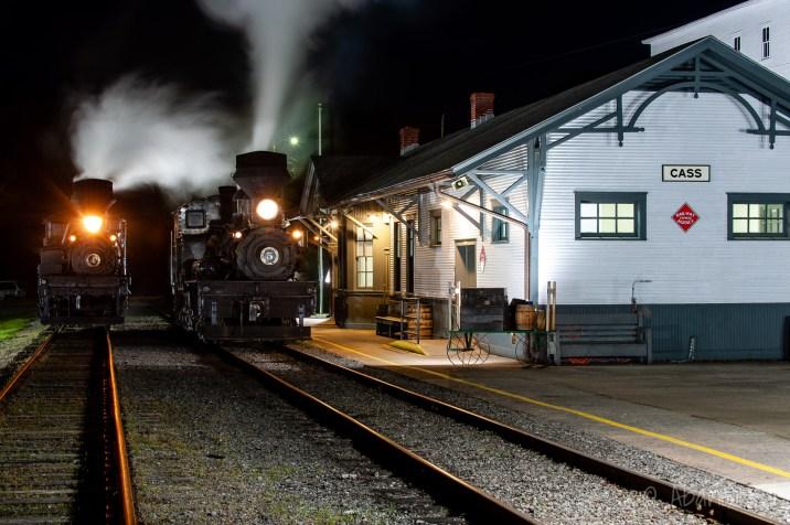 Chesapeake & Ohio Railroad Greenbrier Division, Cass Depot