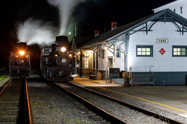 Chesapeake & Ohio Railroad Greenbrier Division, Cass Depot
