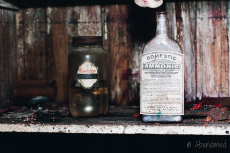 Vintage Ammonia Bottle