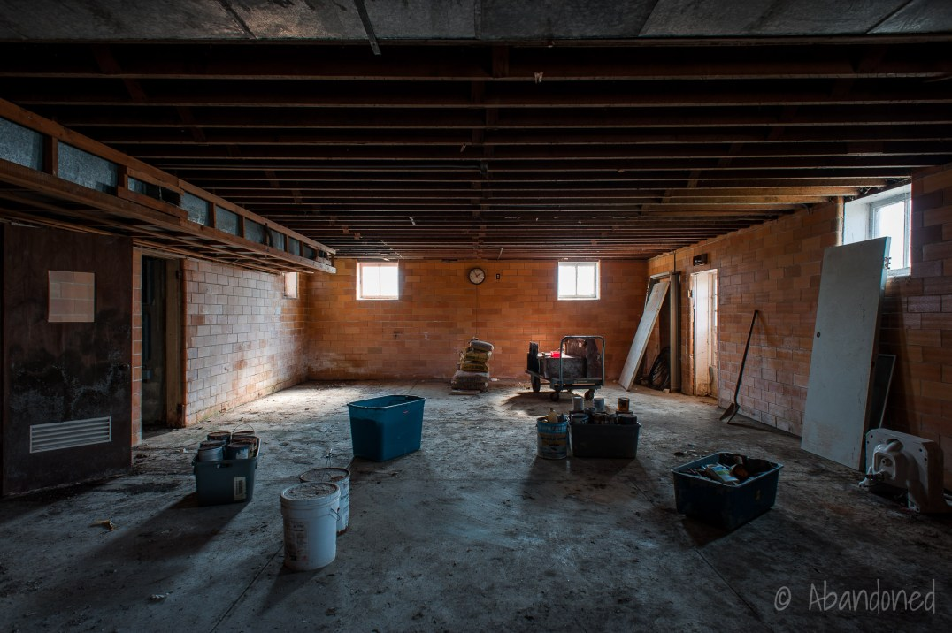 Caesar Creek Township School Basement