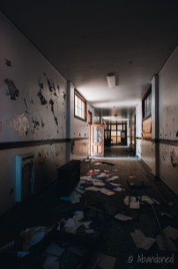 St. Anthony High School Hallway