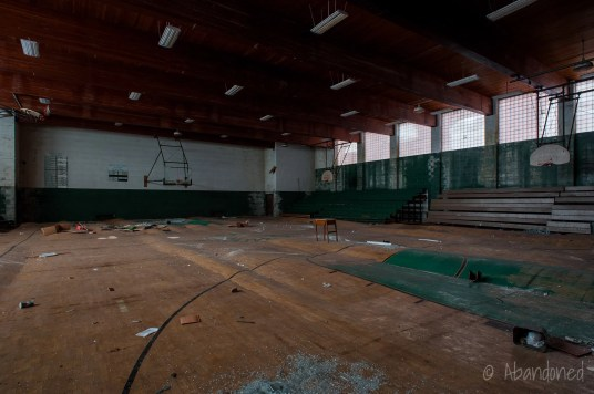 St. Anthony High School Circa 1950s Gymnasium