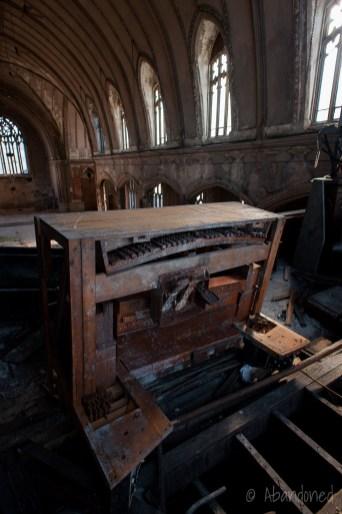 St. Agnes Sanctuary Piano