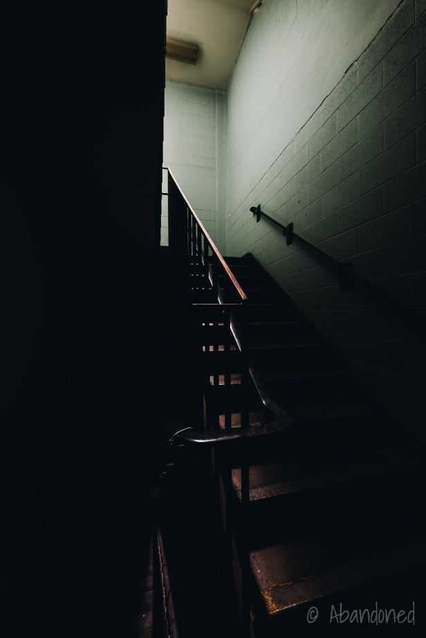 Stairwell in the Syracuse State School