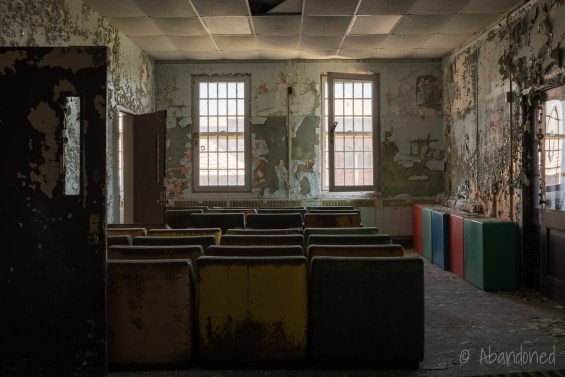 Central Islip State Hospital Rubber Chairs