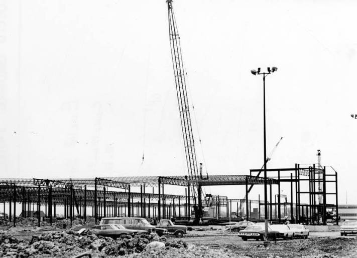 Euclid Square Mall Construction