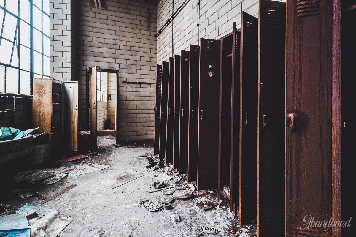 Hudepohl Brewing Company Locker Room
