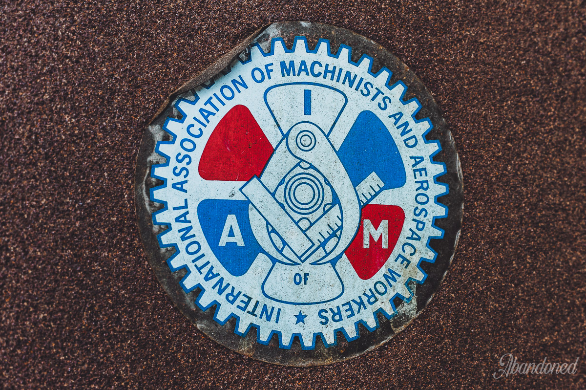 Hudepohl Brewing Company - International National Association of Machinists and Aerospace Workers Union Sticker