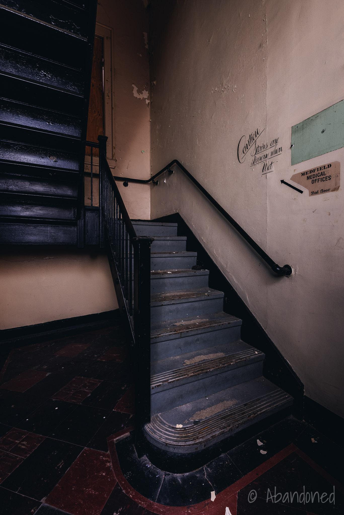 Medfield State Hospital Stairwell
