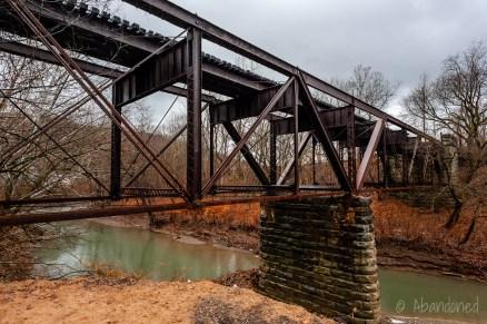 Wheeling Terminal Railway Wheeling Creek Bridge