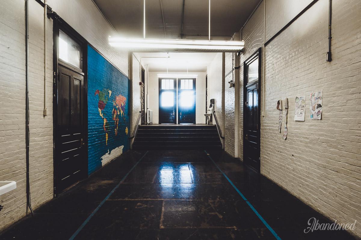 Windsor School Hallway