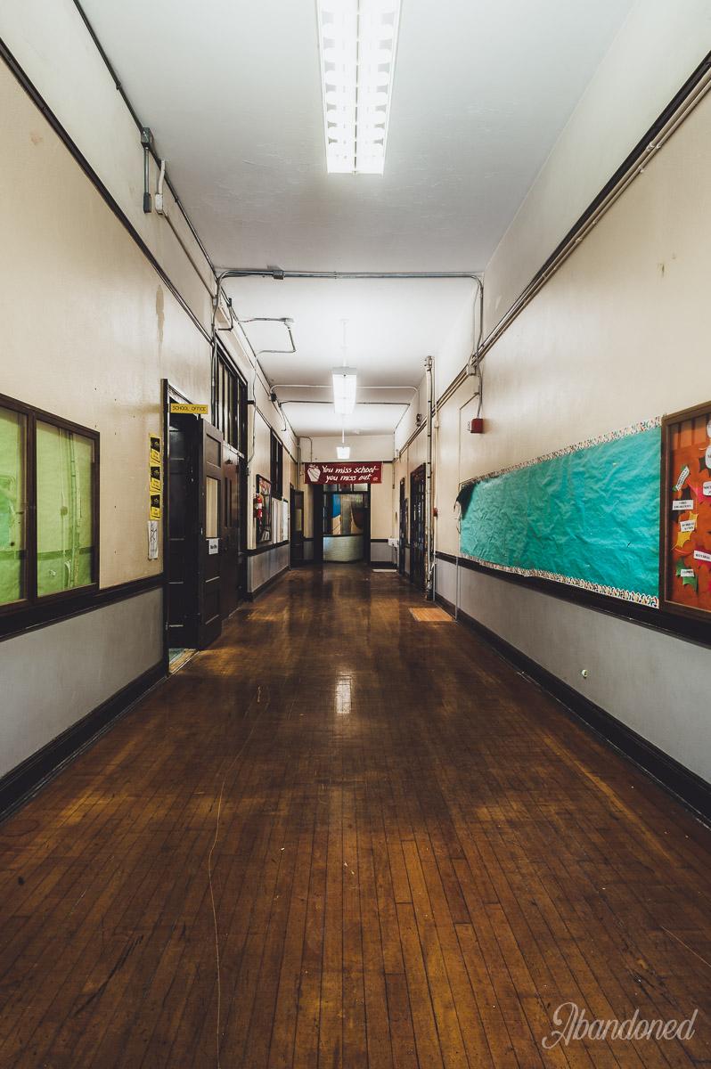 c. 1916 McKinley School Addition Hallway