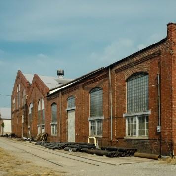 Detroit, Toledo & Ironton Railroad Jackson Shops