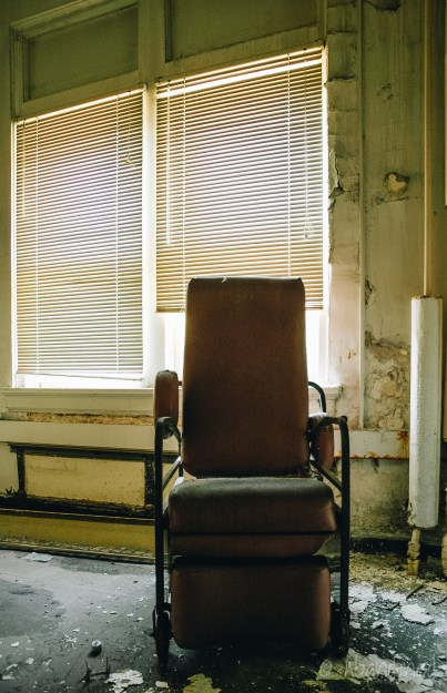 Mountain State Hospital Patient Chair