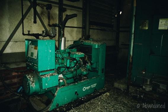 Mountain State Hospital Engine