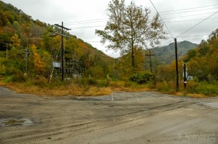 Elk Creek Coal Company Preparation Plant Disused Railroad Tracks