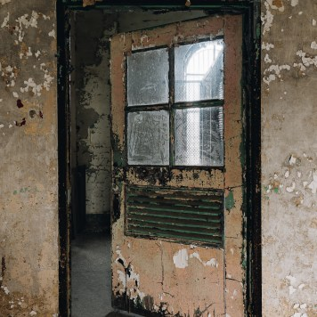 Ohio State Reformatory Library Door