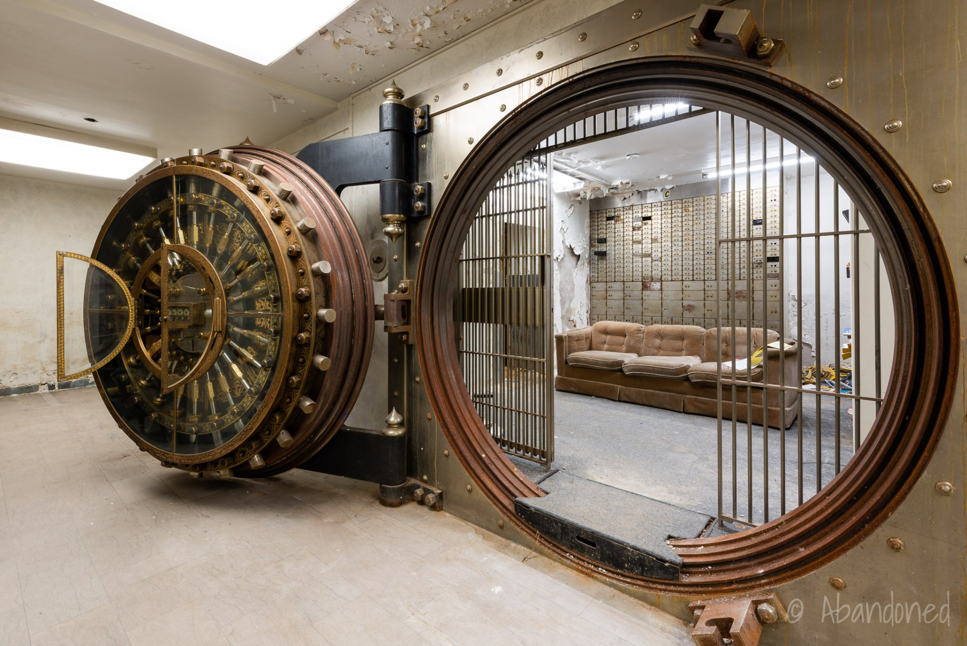 People's Bank Vault