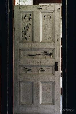 Medfield State Hospital Administration Building Door