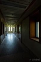 Medfield State Hospital Ward R Hallway