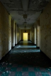 Medfield State Hospital Ward S Hallway