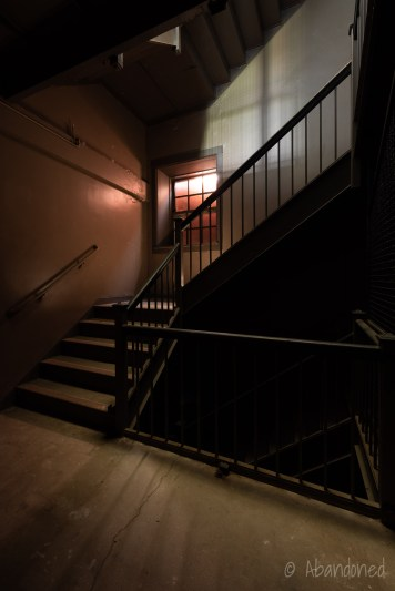 Medfield State Hospital Male Employees' Home Stairwell