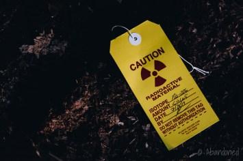 O'Hara Waltham Dial Company Radioactive Material Warning