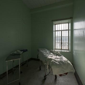 Trans-Allegheny Lunatic Asylum Typical Room with Gurney