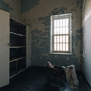 Trans-Allegheny Lunatic Asylum Typical Room with Baby Carriage