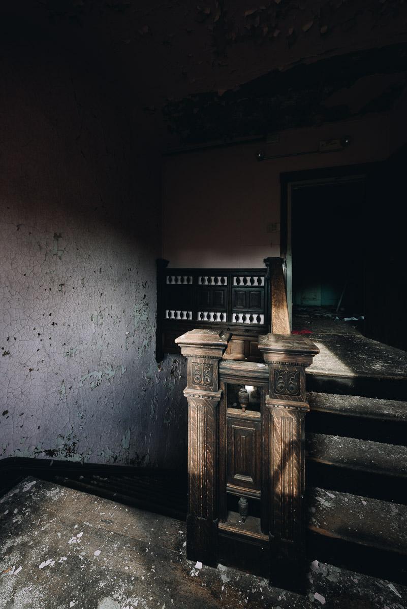 A. E. Burckhardt House Interior Stairwell