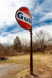 Gulf Gasoline Station Sign