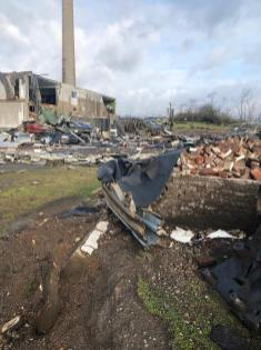 Tennessee StatePenitentiary Tornado Aftermath