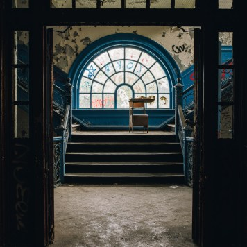 Immaculate Heart of Mary School Stairwell