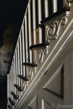 Poplar Hill Staircase Detail