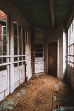Essex County Home and Farm Interior Passageway