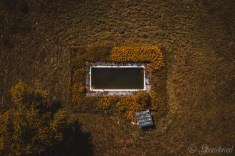 Holy Souls' Episcopal Church Camp Aerial