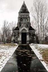 Oakwood Cemetery John Crouse Mausoleum