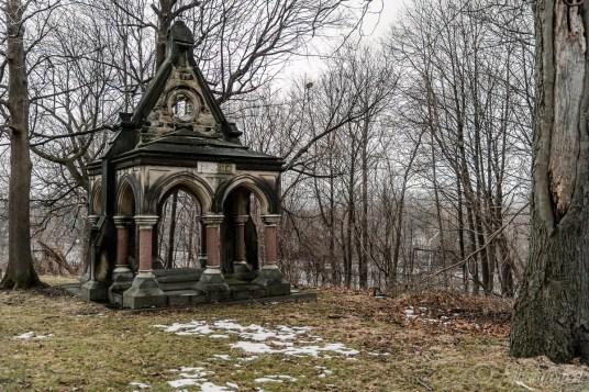 Oakwood Cemetery Charlotte Hickox Granger Mausoleum
