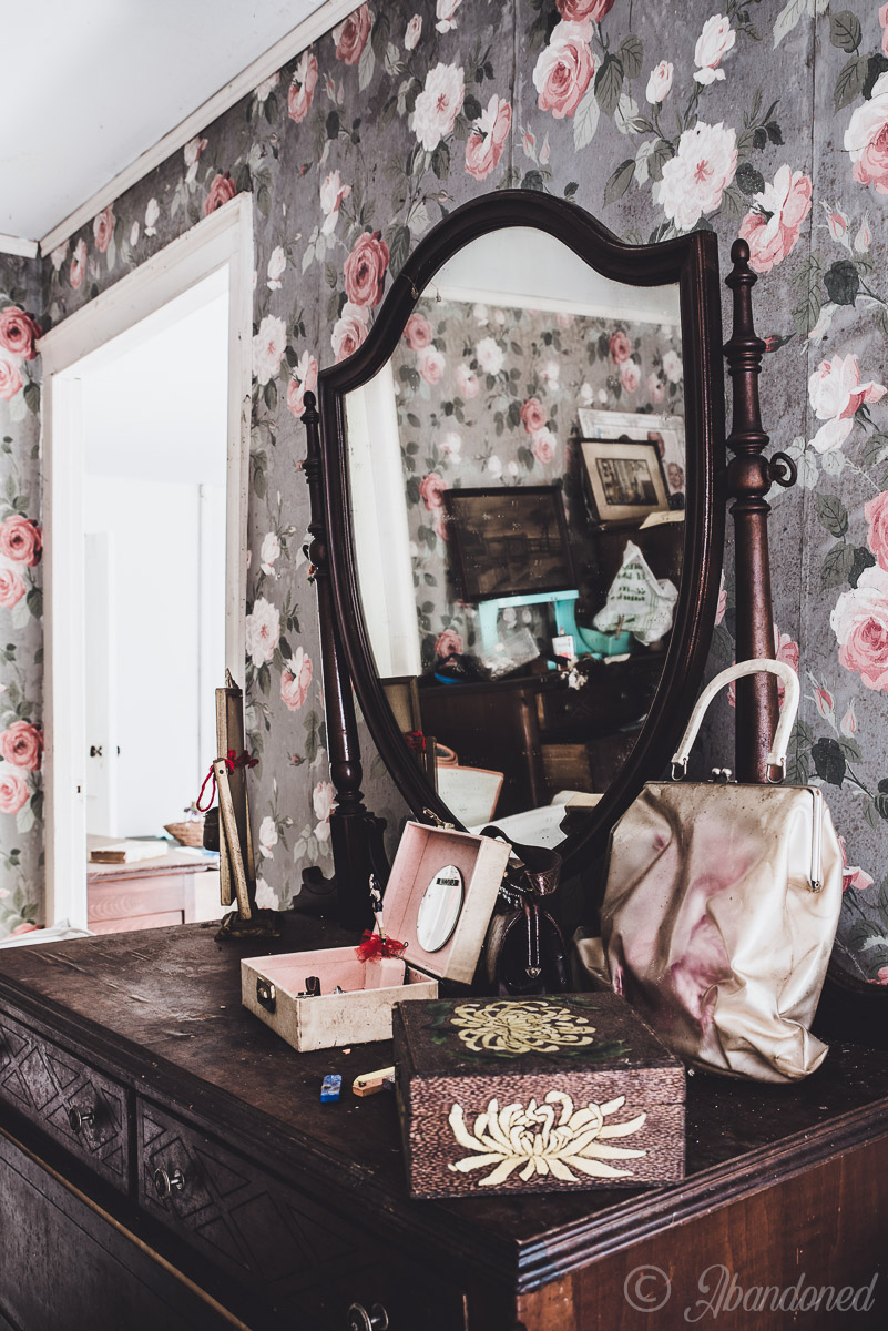 Abandoned Furnishings and Antiques in Bedroom