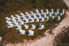 Aerial Overview of Presidents Heads