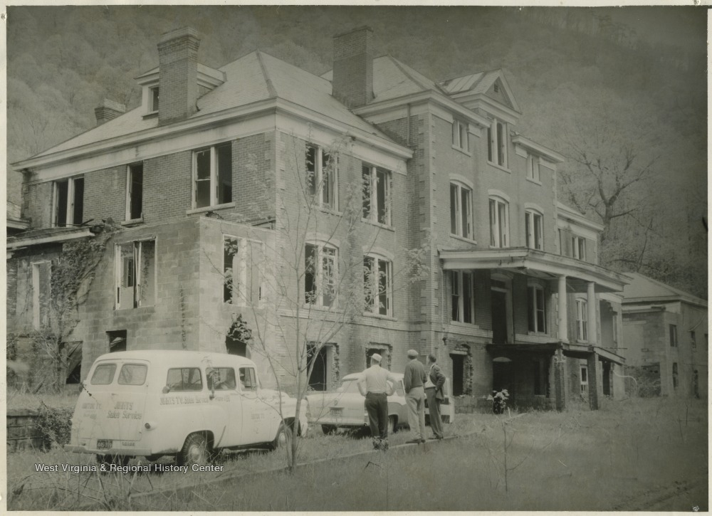 Abandoned McKendree Hospital c. 1958