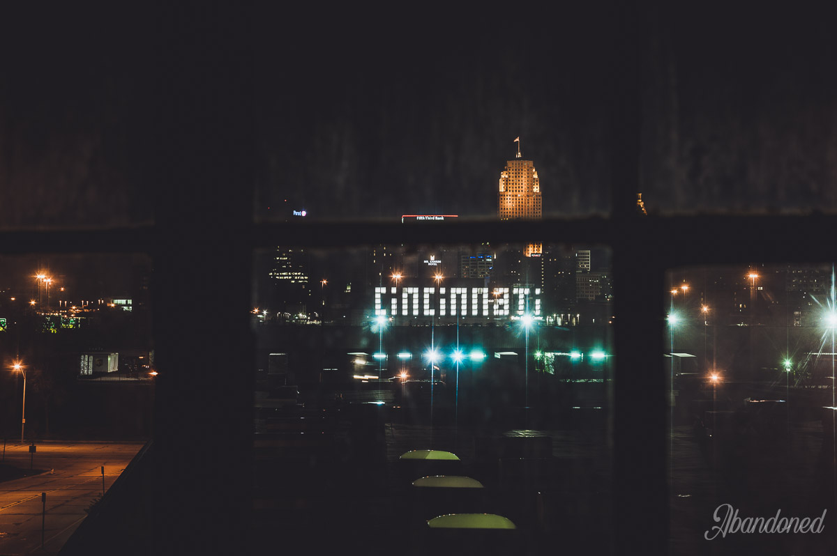Cincinnati Skyline from the Hudepohl Brewing Company