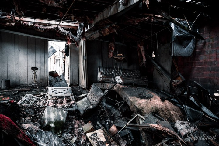 Collapsing funeral home