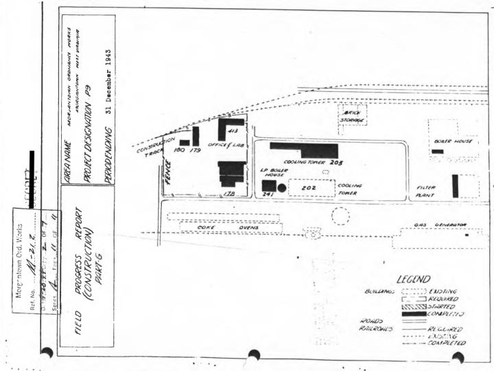 MorgantownOrdnance Works Map